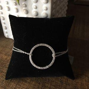 Beautiful double strand SS bracelet